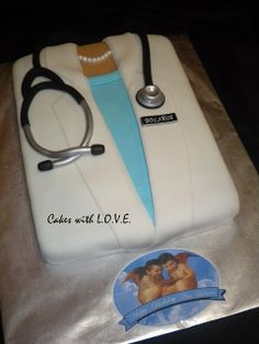 Dr. Bolaños Birthday Cake :)  by Cakes with L.O.V.E., via Flickr