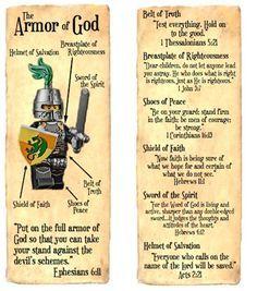 Kidology - Kidology Forums: Armor of God Bookmark