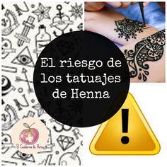 El Cuaderno de Flores-farmacia, nutrición y vida sana: El riesgo de los tatuajes de Henna