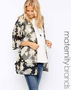 Maternity Kimono Top from @asos - must have for the fall and winter! #style