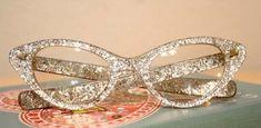 DIY Glitter Glasses for the bookworm mom :)