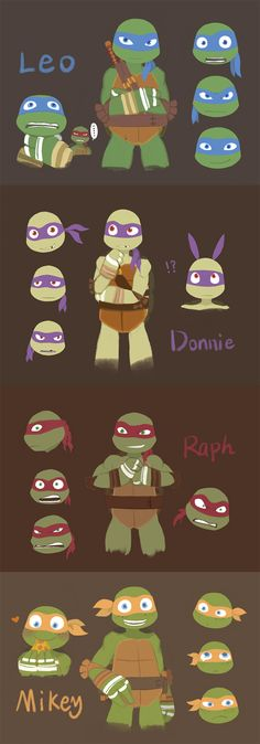 2K12 Ninja Turtles by Wusagi2.deviantart.com on @deviantART