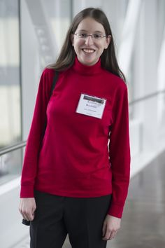 Kristin Bouldin at the 130th annual meeting in Atlanta; January 7-10, 2016. Photo by Marc Monaghan