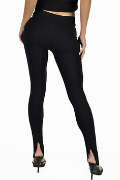 Our Seamless Stirrup Leggings are going to be one of the most comfortable and best fitting basic leggings in your entire wardrobe. These stirrup leggings are a highly versatile basic that never goes out of style and can be easily accessorized with virtually any top to create hundreds of new outfits with your existing fashion wardrobe. They are made of a very soft stretchy nylon seamless fabric with an amazingly comfortable stirrup that wont pinch or deliver any foot pain. It comes in five…
