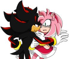 Amy Rose by AmatsuCat on DeviantArt Shadow And Amy, Shadow Art, Shadow The Hedgehog, Sonic The Hedgehog, Gifs, Funny Quotes For Kids, Watch Cartoons, Amy Rose, Sonic Art