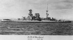 HMS Barham 1934