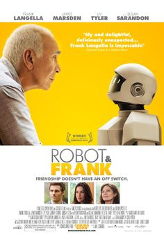 Friday Night #Movies 'Robot & Frank' (2012)  #Tomatometer 86%. Hilarious & heartbreaking! Superb!