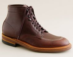 The nicest boots out there - dressy or casual - The Indy Boot by Alden Shoes. If its good for Indiana Jones its good for me.