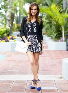 Spring Styling with black and white with @sydnesummer