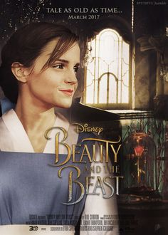 Harry Potter Stuff - Emma Watson - Beauty and the Beast fanmade poster