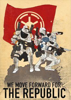 Republic Comandos. Star Wars Clonewars Crom - Cristian Ortiz