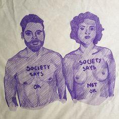 Society Says - in Cream