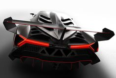 Lamborghini Veneno | On the verge of being released for the drooling public in Geneva tomorrow | 6.5 liter V12, 750 HP | top speed of 220 mph | Limited production USD 3.9 million.