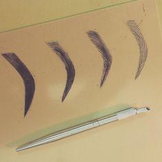 Microblading practice techniques