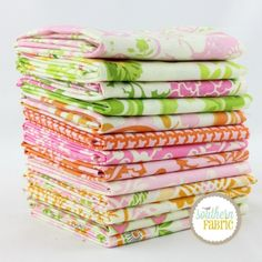 Up Parasol - Sunny Up - Fat Quarter Bundle (HB.UP.SU.13FQ) by Heather Bailey for Freespirit | SouthernFabric.com