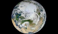 """""""Canica Blanca"""", la última foto de la Tierra vista desde el Polo Norte"""