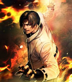 Kyo Kusanagi - King of Fighters | Tumblr