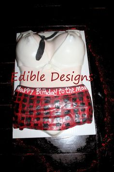 Edible Designs by Mary 3-D Cakes - Naughty Cakes