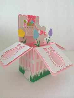 Easter Card In A Box by MyCasualWhimsy on Etsy, $1.99