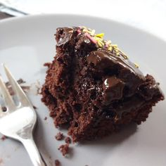 Chocolate Wacky Cake | Foodblog rehlein backt