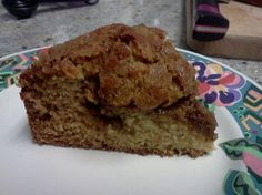 Sourdough Coffee Cake Recipe - Food.com - 225416 This is very good and an excellent way to use leftover starter. I think I will add chopped apples and walnuts next time!