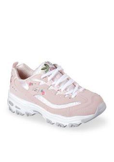 Skechers Women's D'lites Sneaker - Light Pink - 7.5M