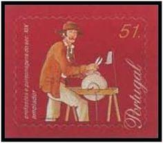 Selos - Afinsa nr 2566 - Profissões ~~   Profissões e Personagens do Séc. XIX