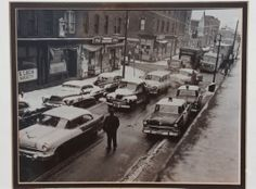 Urban Renewal 1950s hartford ct | Hartford's Front Street neighborhood was razed in the late 1950s to ...