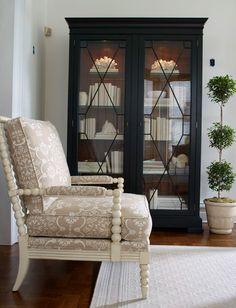 Birkhouse Display Cabinet - Ethan Allen US Living Room Storage, My Living Room, Living Room Furniture, Home Furniture, Living Spaces, Painted Furniture, Living Room Cabinets, Armoire, Beautiful Living Rooms
