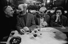 Photo d'actualité : French photographer Robert Doisneau with author...