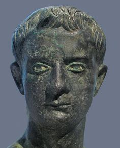 Bronze bust of Caligula in the Metropolitan Museum of Art, New York