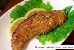 Roston sült fűszeres zabpehelybundás lazacfilé Pork, Ethnic Recipes, Winter Time, Kale Stir Fry, Pork Chops