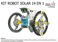14 in 1 Educational Solar Robot Kit Robot Kits, Diy Robot, Tech Gifts For Dad, Best Educational Toys, Advantages Of Solar Energy, Technology Gifts, Do It Yourself Kit, Science Kits, Happy Fathers Day
