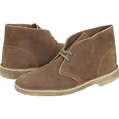 Love Clarks desert boots. I wear'em pretty much every chance I can get away with it.