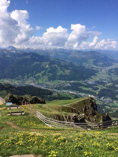 Herrlich am Berg! #KitzbühelerHorn