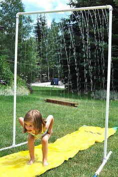 garten dusche selber machen pvc rohr kinder spaß | kinder ideen, Garten und erstellen