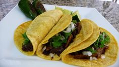 Steak and Chorizo Tacos ~ Easy Cooking