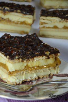 Maxi King Ciasto bez pieczenia - KulinarnePrzeboje.pl Sweet Recipes, Cake Recipes, Dessert Recipes, Maxi King, King Cake Recipe, Polish Recipes, Polish Food, Arabic Food, Homemade Cakes