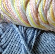 How to change knit patterns to crochet