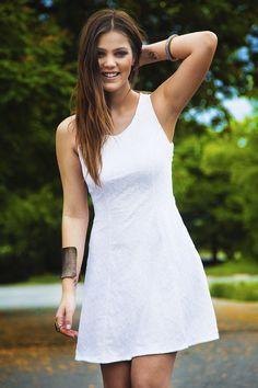 Pamela Tomé veste Erre Erre verão 2015 #MeuLookErreErre #mundoErreErre #ootd #lookdodia #totalwhite #brancototal