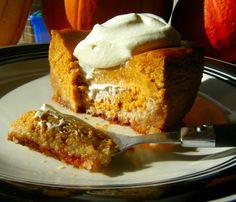 Healthy Pumpkin Gooey Butter Cake