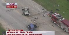A Woman in Houston Texas chasing husband who had another woman in car dies in Crash!