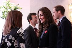 The Duke and Duchess of Cambridge attend The Prince's Charities Forum at BAFTA 195 Piccadilly.    It is the first time The Duchess has attended the forum.