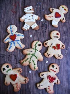 Have a scary good time with this Voodoo Doll Cookie recipe.
