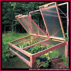 Dollar Store Crafter: DIY Alaska-Style Coldframe Join our podcast at