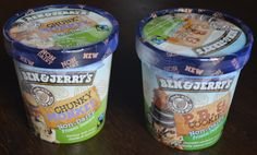 Two of my favorite Ben & Jerry's non-dairy ice cream flavors!  #vegan #icecream #plantbased #whatveganseat