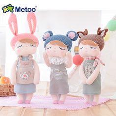 Metoo Retro Angela Doll Lovely Girls Stuffed Toys Kids Children Baby Birthday Gift Home Decoration Cute Angela Rabbit Plush Toy