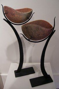 Crescent Pair by Virginia McKinney - the curves are so lovely...