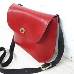 Leather Jenny bag by wolfram lohr
