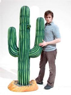 Event Prop Hire: 3d Cactus Prop (Resin)